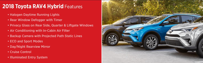 New 2018 Toyota RAV4 Hybrid Model Features
