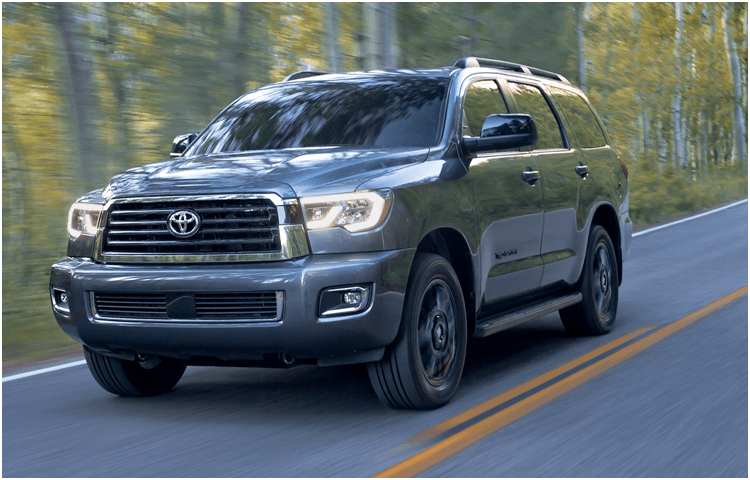 New 2018 Toyota Sequoia Model Exterior Styling