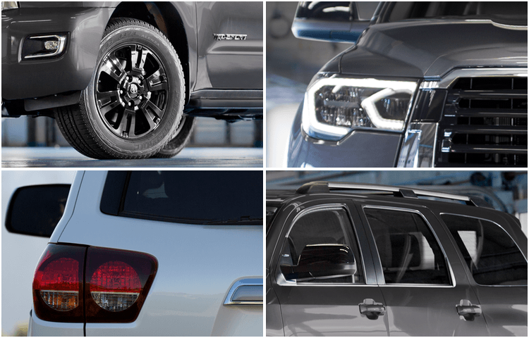2018 Sequoia Model Exterior Styling