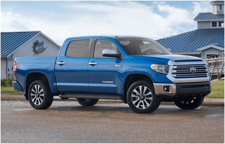 New 2018 Toyota Tundra Model Exterior Styling