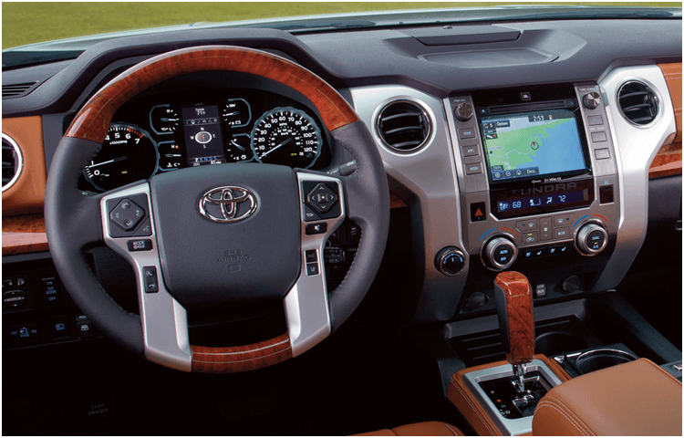 2018 Tundra Model Interior Styling