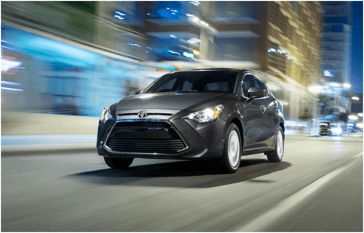 2018 Toyota Yaris iA exterior