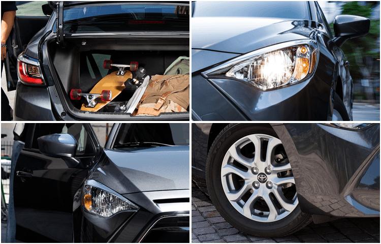 2018 Toyota Yaris iA exterior design