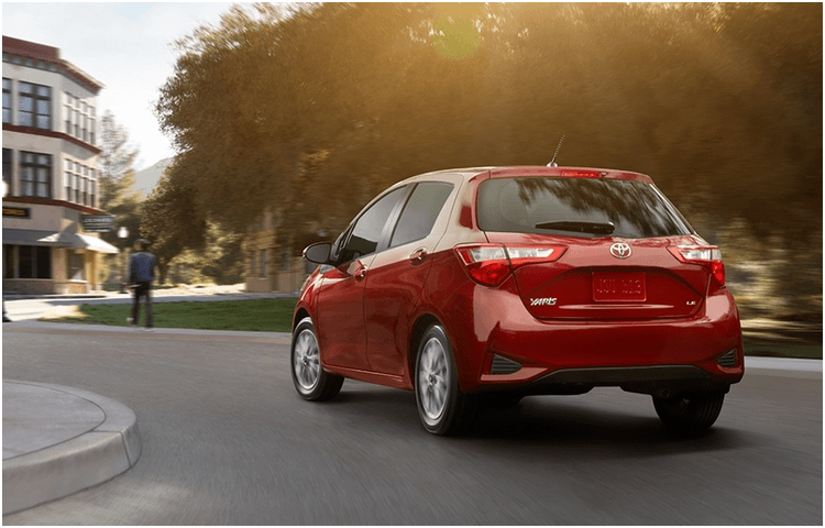 New 2018 Toyota Yaris Model Exterior Styling