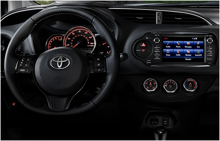 2018 Yaris Model Interior Styling