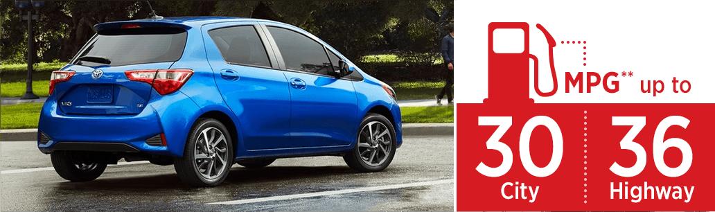 2018 Toyota Yaris MSRP