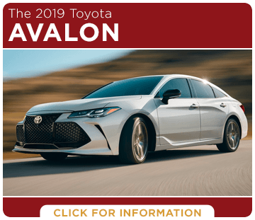 Click to research the 2019 Toyota Avalon model at Capitol Toyota in Salem, OR