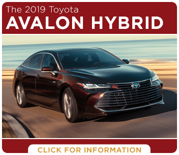Click to research the 2019 Toyota Avalon Hybrid at Capitol Toyota in Salem, OR