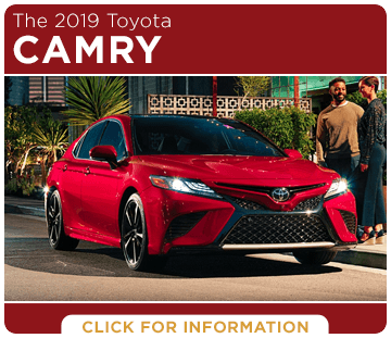 Click to research the 2019 Toyota Camry model at Capitol Toyota in Salem, OR