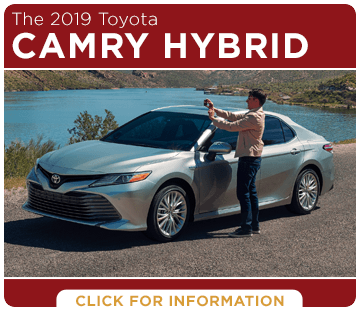 Click to research the 2019 Toyota Camry Hybrid at Capitol Toyota in Salem, OR
