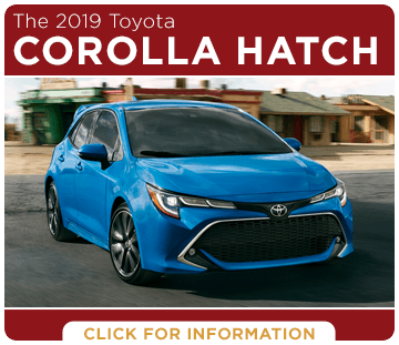 Browse our 2019 Corolla Hatchback model information at Capitol Toyota in Salem, OR