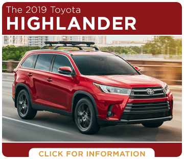 Click to research the 2019 Toyota Highlander model at Capitol Toyota in Salem, OR