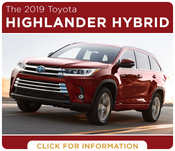 Click to research the 2019 Toyota Highlander Hybrid at Capitol Toyota in Salem, OR