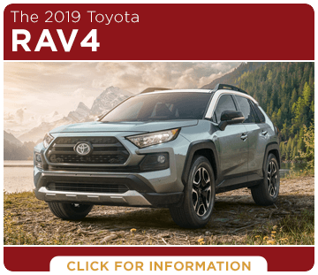 Click to browse our 2019 RAV4 model information at Capitol Toyota in Salem, OR
