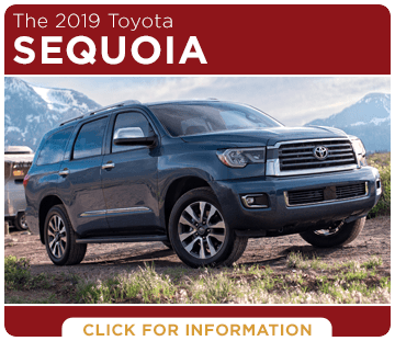 Click to research the 2019 Toyota Sequoia model at Capitol Toyota in Salem, OR