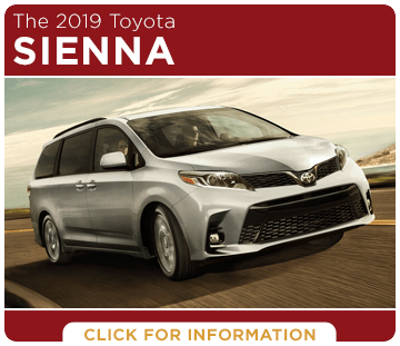 Browse our 2019 Sienna model information at Capitol Toyota in Salem, OR