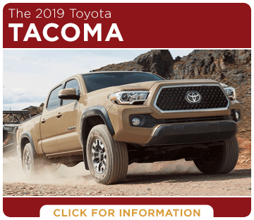 Click to research the 2019 Toyota Tacoma model at Capitol Toyota in Salem, OR