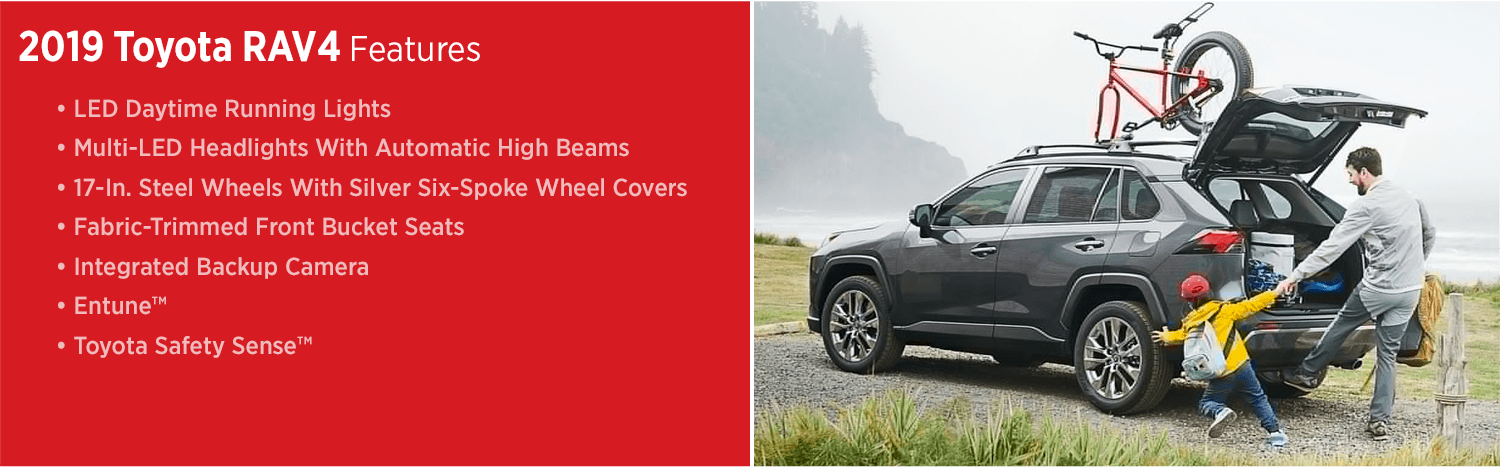 Discover The New 2019 Toyota Rav4 Best Small Suv In Salem Or