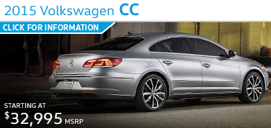Click to Learn More About The 2015 Volkswagen CC Model in Houston, TX