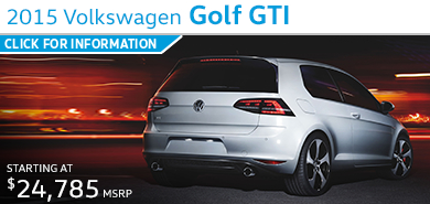 Click to view Volkswagen 2015 Golf GTI Model Information