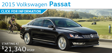 Click to view Volkswagen 2015 Passat Model Information