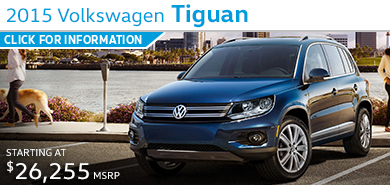 Click to Learn More About The 2015 Volkswagen Tiguan Model in Houston, TX