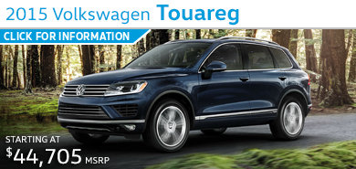 Click to view Volkswagen 2015 Touareg Model Information