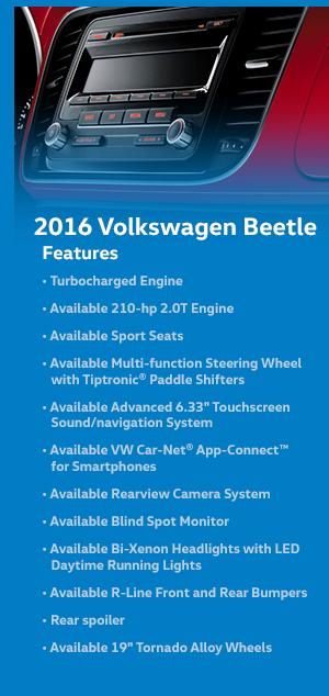 2016 Volkswagen Beetle Features