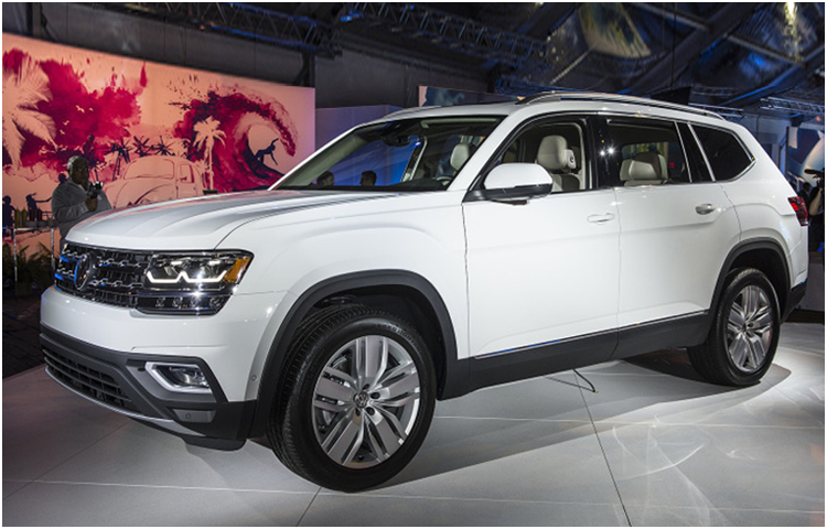 2018 Volkswagen Atlas model exterior