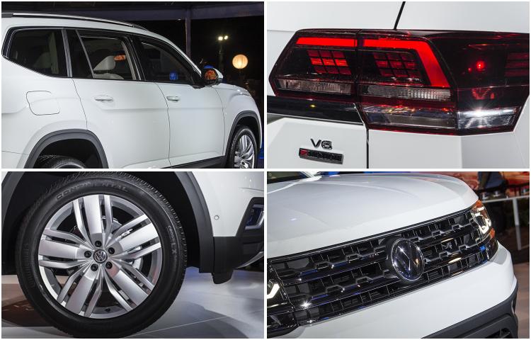 2018 Volkswagen Atlas model exterior style