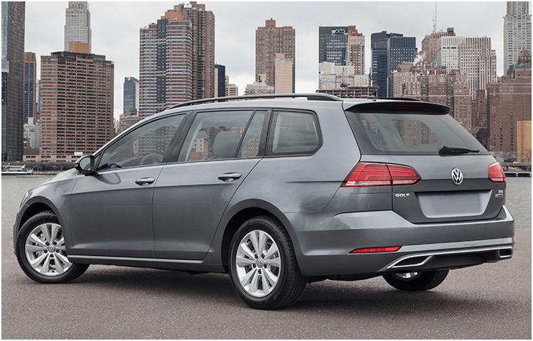 View the 2018 VW Golf Sportwagen Exterior Styling Design