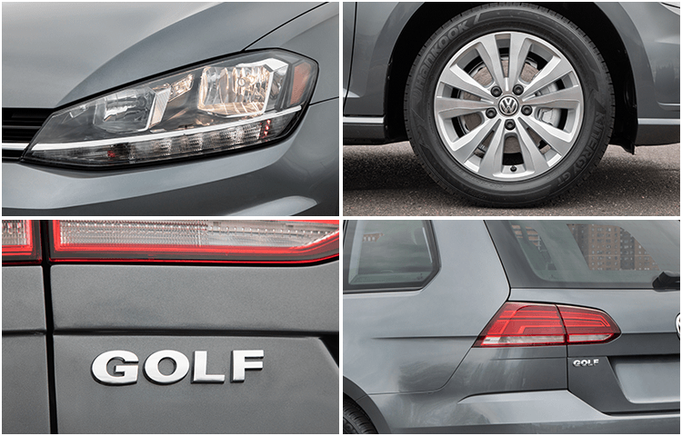 2018 VW Golf Sportwagen Exterior Styling