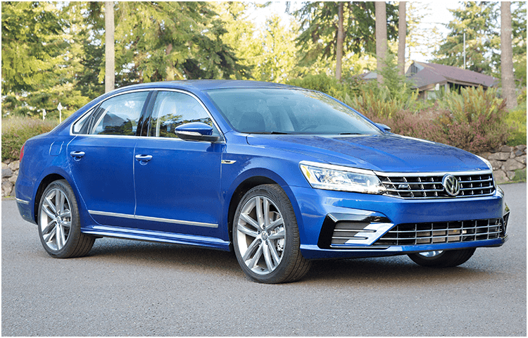 View the 2018 VW Passat Exterior Styling Design