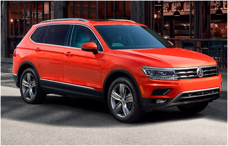 View the 2018 VW Tiguan Exterior Styling Design
