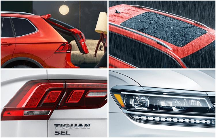 2018 VW Tiguan Exterior Styling