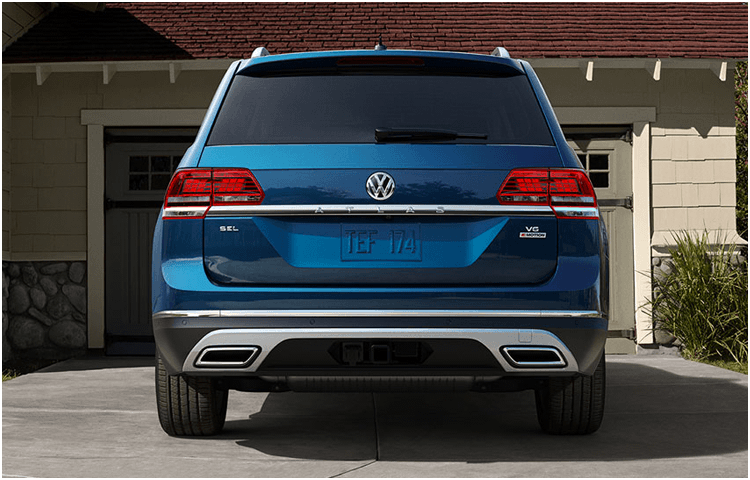 View the 2019 VW Atlas Exterior Styling Design
