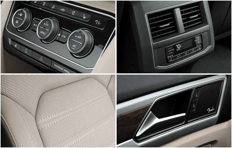 New 2019 Volkswagen Atlas SUV Interior Design