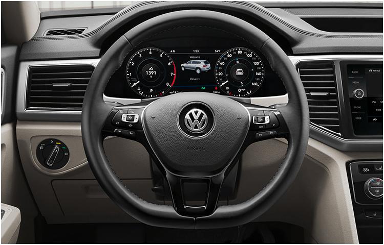 2019 VW Atlas Interior Styling