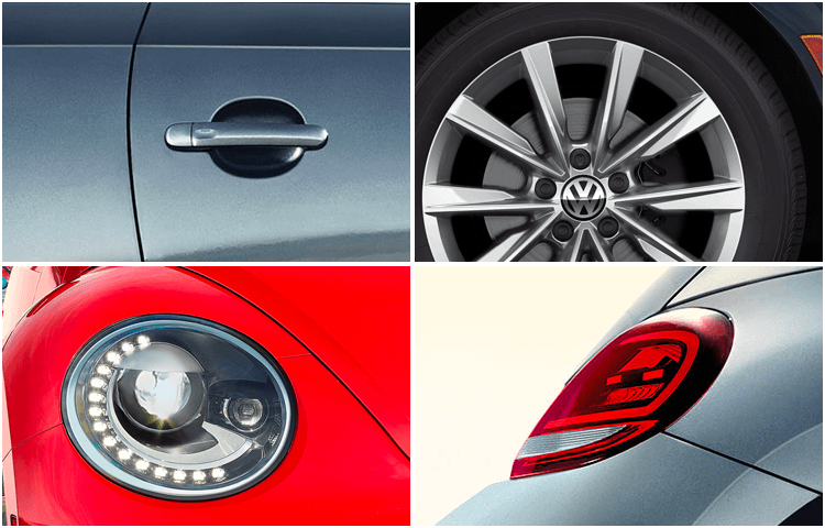 2019 VW Beetle Exterior Styling