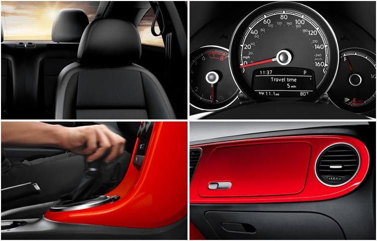 New 2019 Volkswagen Beetle Interior Design