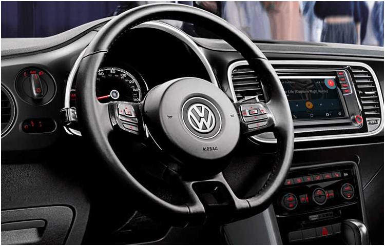 2019 VW Beetle Interior Styling