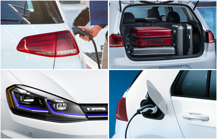 2019 Volkswagen e-Golf Exterior Style & Features