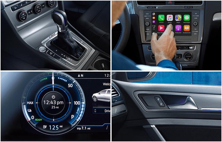 2019 Volkswagen e-Golf Interior Design