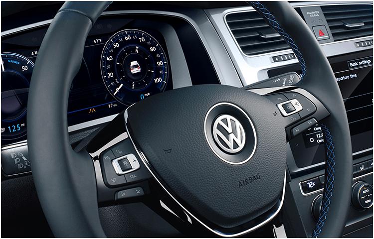 2019 Volkswagen e-Golf Interior Styling