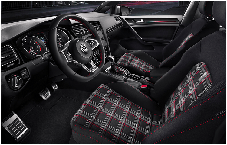 2019 Golf GTI Interior Design