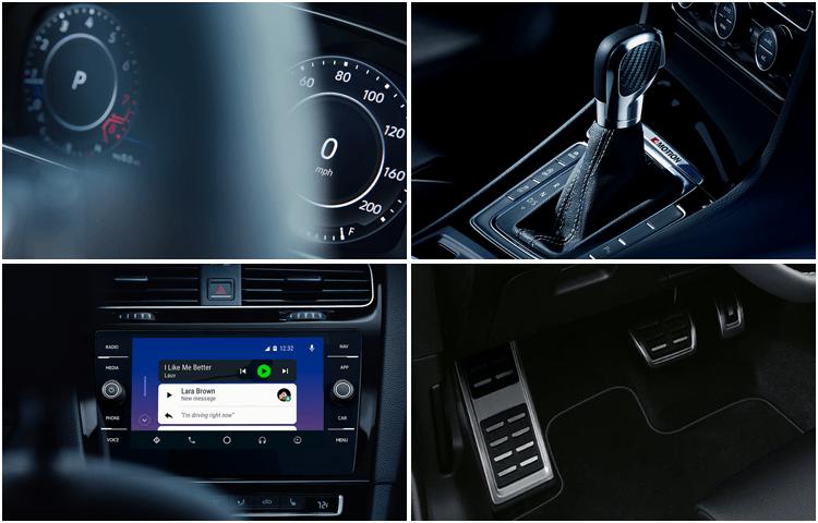 New 2019 Volkswagen Golf R Interior Design