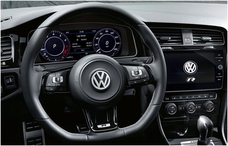 2019 VW Golf Interior Styling
