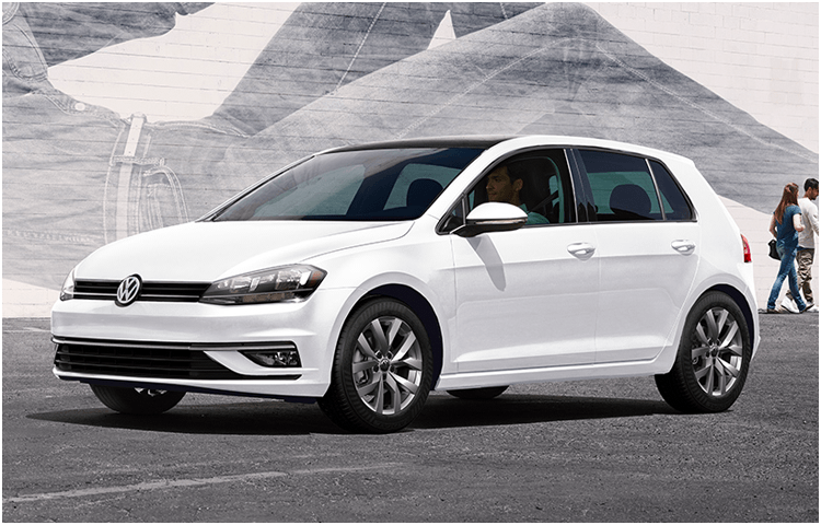 View the 2019 VW Golf Exterior Styling Design