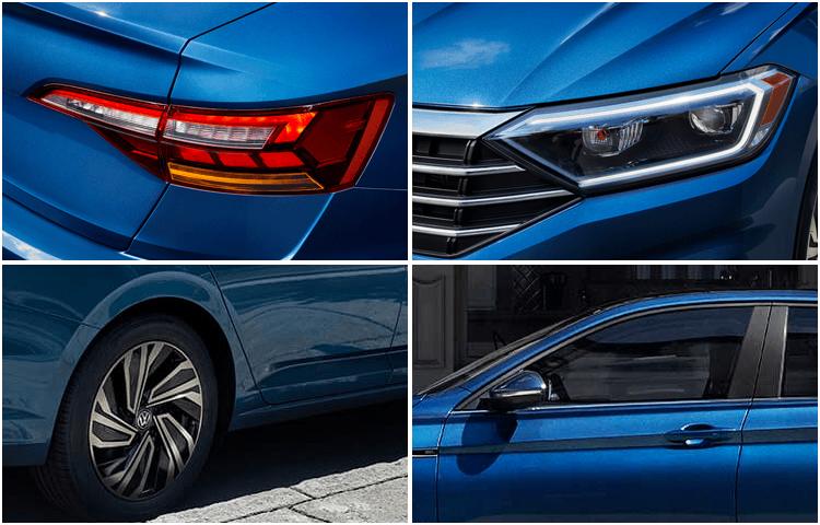 2019 Jetta Model Exterior Design and Features