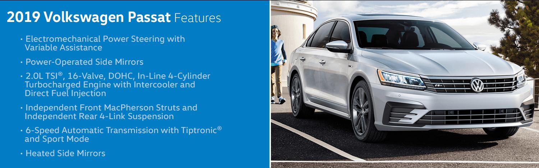 Review the new 2019 Volkswagen Passat Features